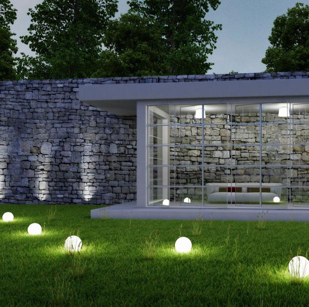 Conseils pour réussir l'éclairage d'un jardin